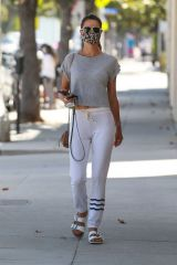 Alessandra Ambrosio Seen out in Santa Monica