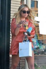 Ashley Benson Leaving a hair salon in Los Angeles