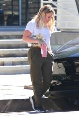 Hilary Duff At Starbucks in Studio City