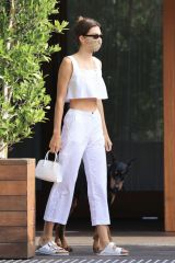 Kendall Jenner Outside Soho House in Malibu
