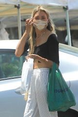 Greer Grammer At a farmer's market in West Hollywood