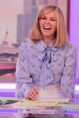 Kate Garraway At 'Good Morning Britain' TV show, London