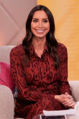 Christine Lampard At 'Lorraine' TV show, London