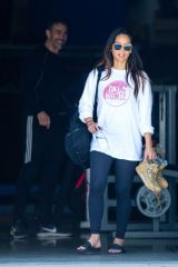 Olivia Munn Leaving a gym in LA