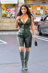 Kim Kardashian At a gas station in Calabasas