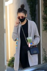 Nina Dobrev Out and about at Melrose Pl in West Hollywood