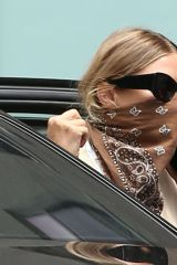 Ashley Olsen Seen leaving The Row office in New York