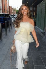 Chelsee Healey and Jennifer Metcalfe see arriving at The Ivy for Chelsee's birthday, Manchester