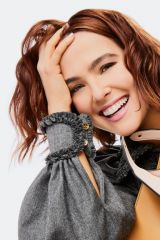 Zoey Deutch - Fendi Peekaboo ISeeU campaign Photoshoot, 2020