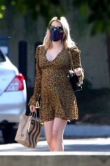 Emma Roberts At Starbucks in Los Feliz