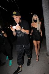 Tana Mongeau Arrive together with Jake Paul at Alex Warren's birthday in Hollywood