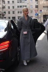 Caroline Daur Spotted in Milan for Fashion Week