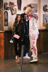 Megan Fox Enjoys a date night a Saddle Ranch in West Hollywood