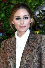 Olivia Palermo Seen arriving at the Etro fashion show during the Milan Women's Fashion Week