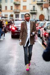 Olivia Palermo Seen outside Etro during the Milan Women's Fashion Week