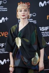 Najwa Nimri Attends the 'Forgotten We'll Be' Premiere during the 68th San Sebastian Film Festival in San Sebastian
