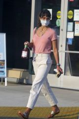 Jordana Brewster Grocery shopping in Los Angeles