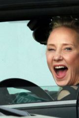 Anne Heche Looks excited to be back for another week on Dancing with the Stars in Los Angeles