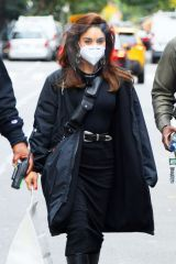 Vanessa Hudgens On the set of Tick, Tick...Boom! in NY