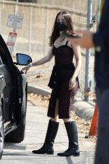 Ana De Armas On the set of a film in Los Angeles
