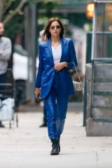 Irina Shayk Out in New York City