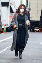 Vanessa Hudgens Dressed to impress as she heads to East Village set of Netflix's Tick, Tock... Boom in NYC