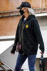 Pom Klementieff Takes a break from filming 'Mission Impossible 7' as she is spotted sightseeing around Venice