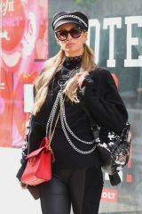 Nicky Hilton & Paris Hilton look super fashionable while out shopping in Manhattan's Soho area, New York City