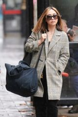Myleene Klass Arriving at Global Studios, Smooth FM in London