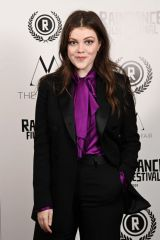 Georgie Henley At 'Stardust' Premiere during the 28th Raindance Film Festival in London