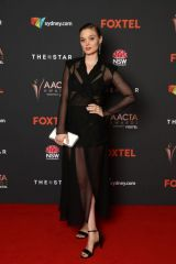 Bella Heathcote At 2020 AACTA Awards in Sydney