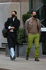 Katie Holmes and Emilio Vitolo Jr. take a lover's stroll in NYC