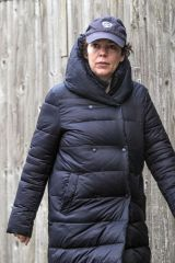 Olivia Colman Steps out for a stroll in London