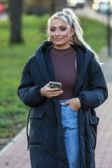 Saffron Barker Out and about in London