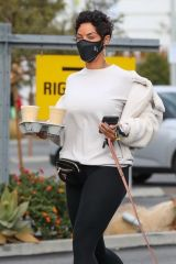 Nicole Murphy Seen in Beverly Hills