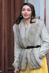 Matilda De Angelis On the set of 'Across the River and Into the Trees' in Venice