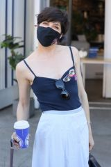 Selma Blair Out for coffee in Studio City