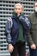 Paige Lorenze Steps out in New York City