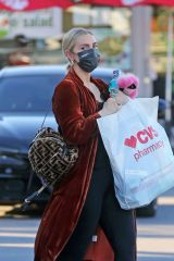 Ashlee Simpson Out for shopping at CVS in Los Angeles