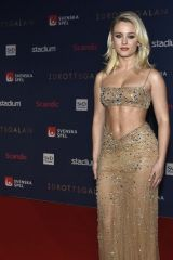 Zara Larsson At Swedish Sports Award (Svenska idrottsgalan) in Stockholm