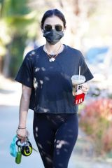 Lucy Hale Out for a hike in Los Angeles