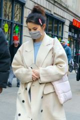 "Selena Gomez Seen heading to the movie set of ""Only Murders"" in New York City"