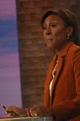Robin Roberts Good Morning America TV Show in New York