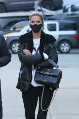 "Nicky Hilton Looks fashionable wearing a ""Playboy"" sweater while out in Manhattan's Soho Area"