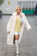 Ashley Roberts Seen at Global Radio in London