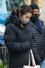 Selena Gomez Spotted on the set of 'Only Murders in the Building' in New York