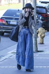Diane Keaton Seen in Brentwood