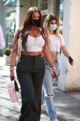 Anastasia Karanikolaou & Kelsey Calemine Seen at Croft Alley BH in Beverly Hills