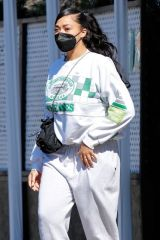 Jordyn Woods Seen in Los Angeles