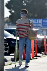 Selma Blair Seen in Malibu